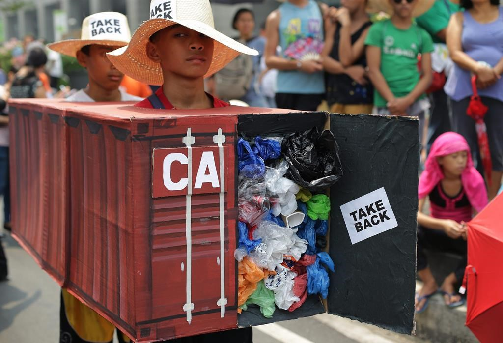 Canada Will Bear Cost Of Repatriating Trash-filled