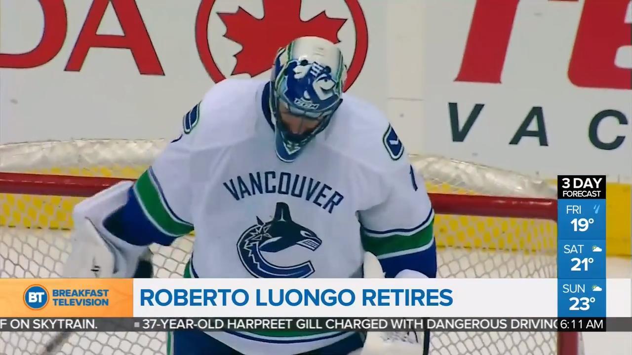 Roberto Luongo Retires