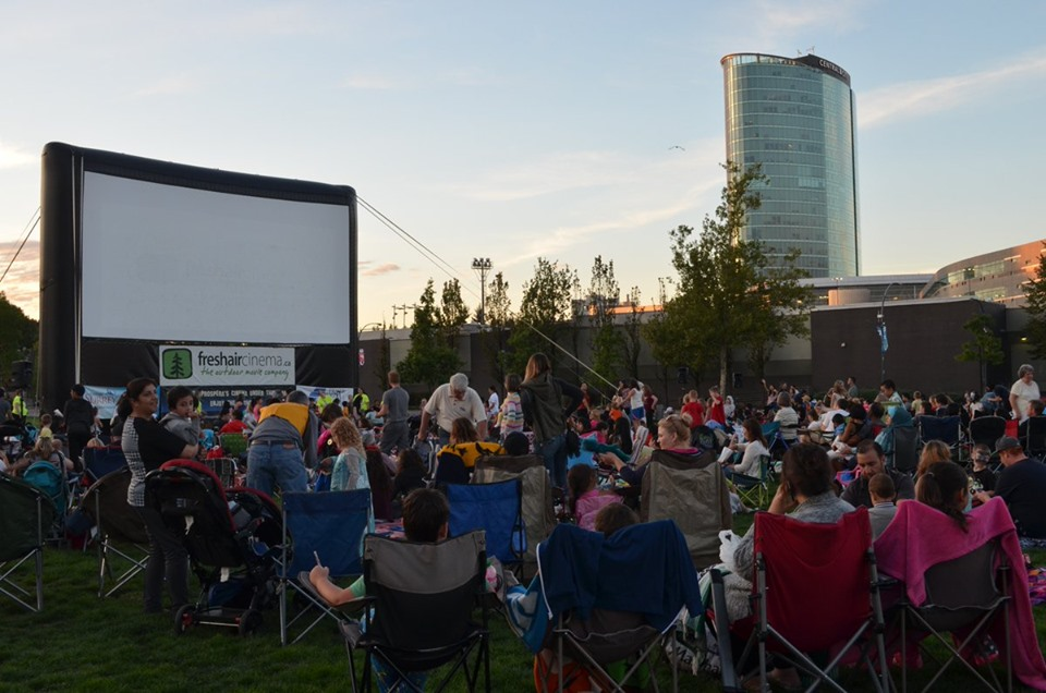 It's drive-in and outdoor movie season in Metro Vancouver