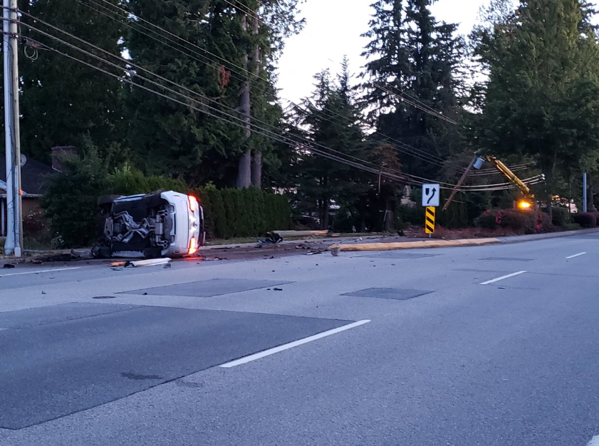 Surrey crash leaves one person with 'life-altering injuries'