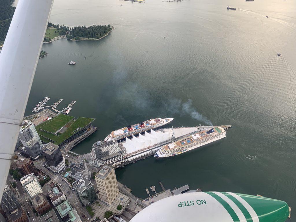 Cruise ships need monitoring beyond ports; environmental group