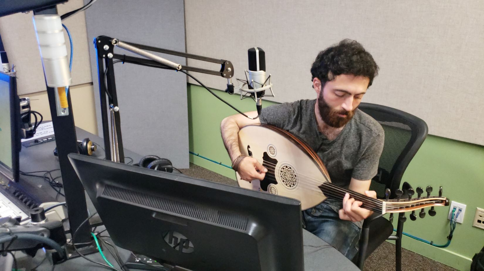 My message in music is to deliver peace in the world:' Syrian