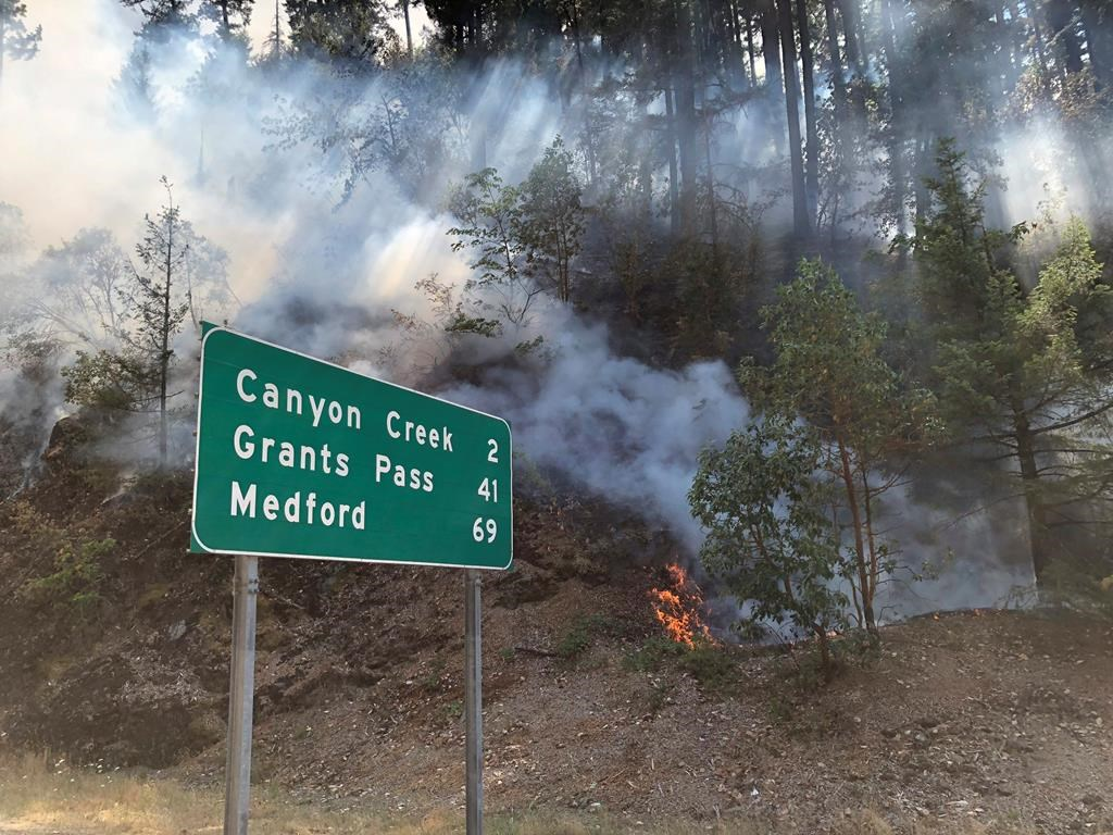 Montana, Oregon wildfires prompt evacuations, smoke warnings