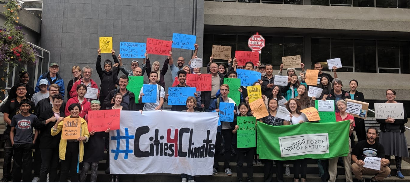 Burnaby latest city to declare climate emergency