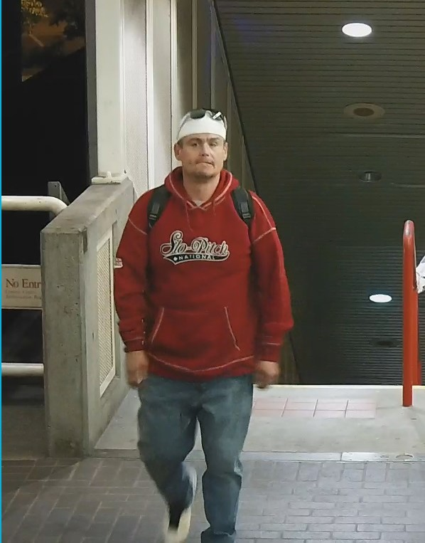Police search for man accused of choking, robbing two people on transit