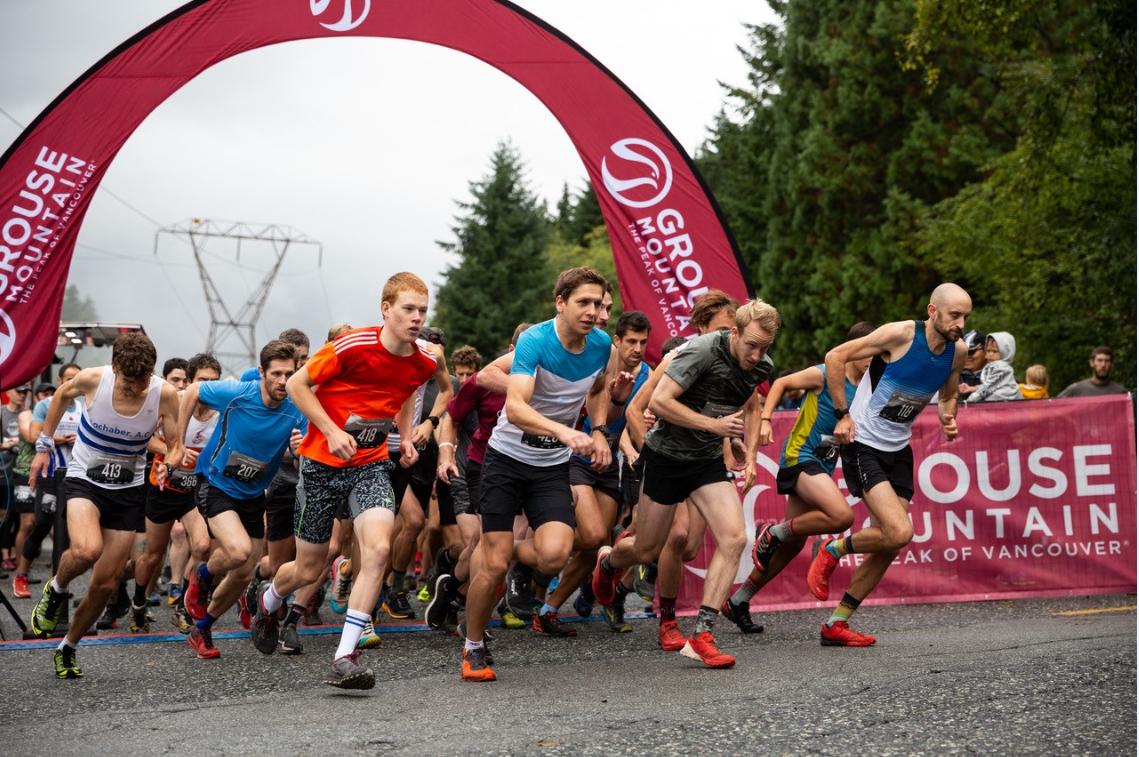 Hundreds raise money for 29th annual Grouse Grind Mountain Run