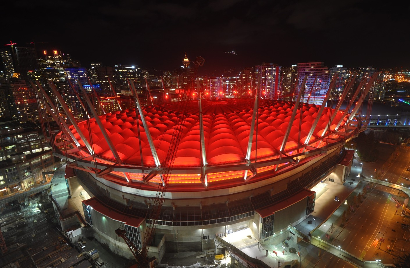 BC Place to light up red for blood cancer awareness