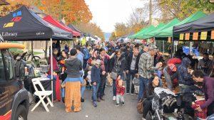 Kitsilano's Autumn Fair @ Vine Street from 5th Avenue to 8th Avenue