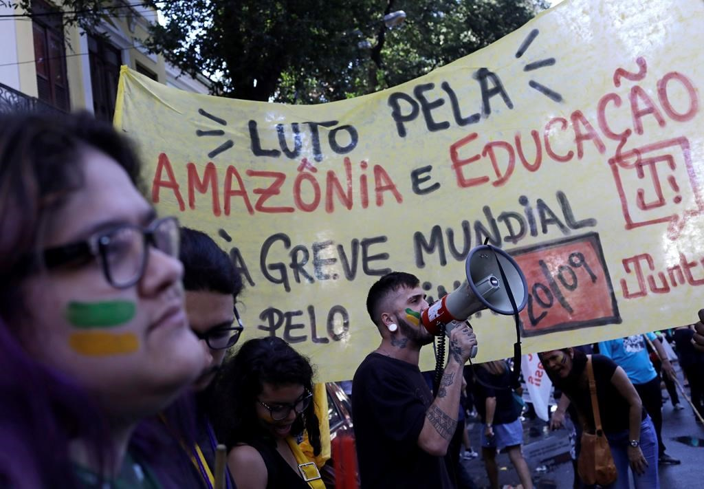 Brazil's president again stresses sovereignty over Amazon