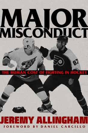 New book 'Major Misconduct,' may change your mind about on-ice fisticuffs
