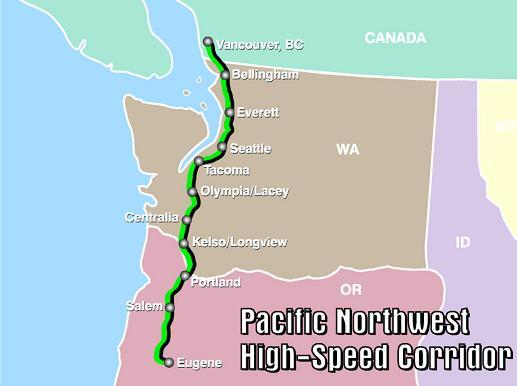 B.C., Washington and Oregon fast-tracking high-speed rail corridor across Pacific Northwest