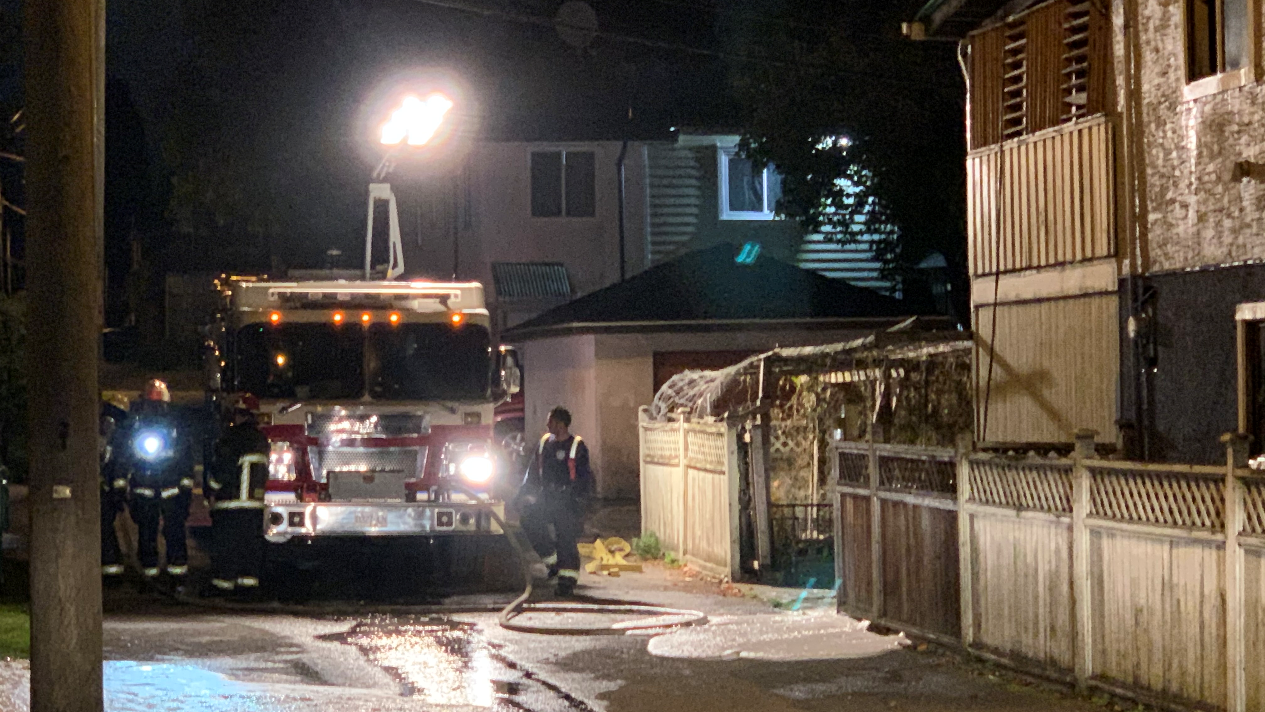 'Literally smoke everywhere': man leaps off balcony to escape East Vancouver fire