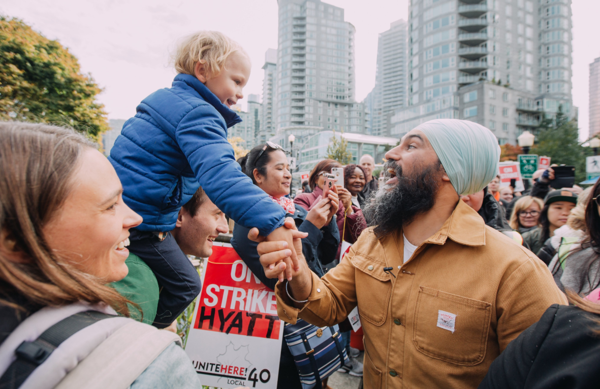 Singh's campaign co-chair says election could come down to B.C.