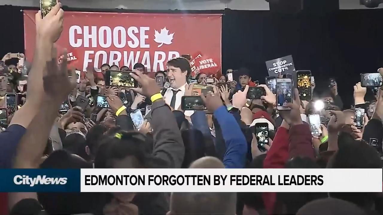 Edmonton has been forgotten by the federal leaders
