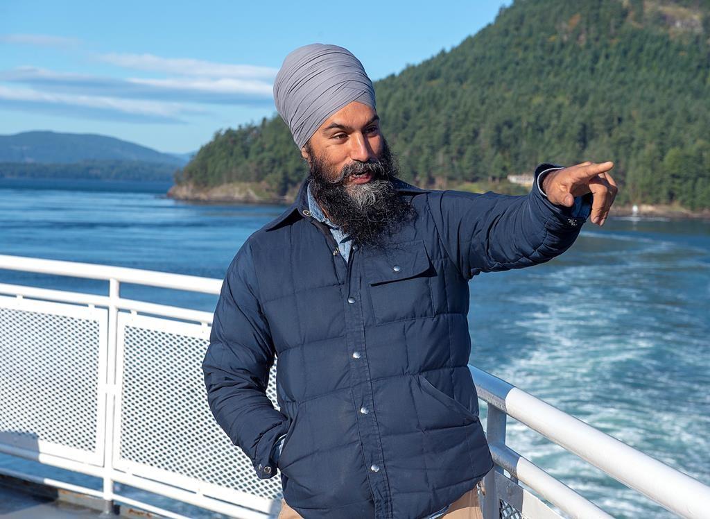 NDP Leader Jagmeet Singh elected in Burnaby South
