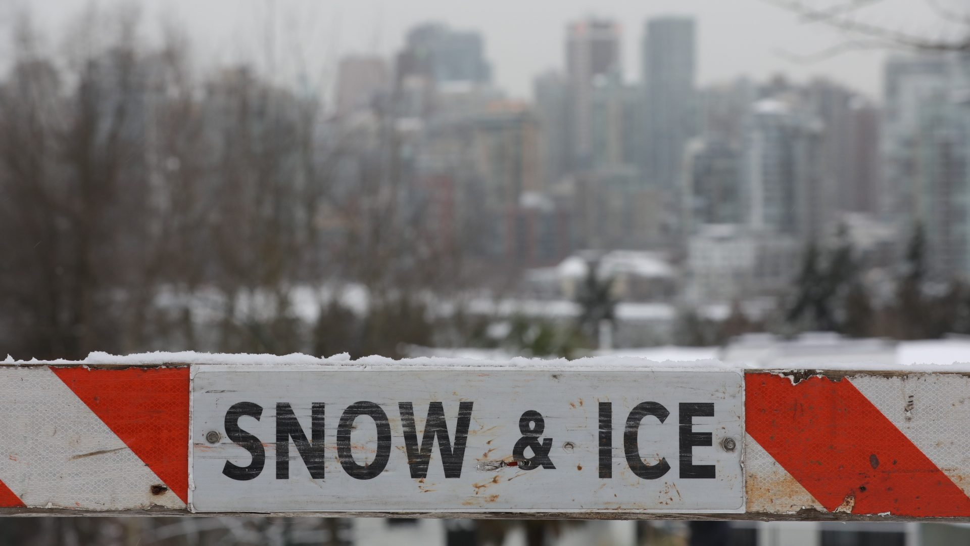 A hidden danger lurks: Wintry conditions, black ice continue to blanket Lower Mainland