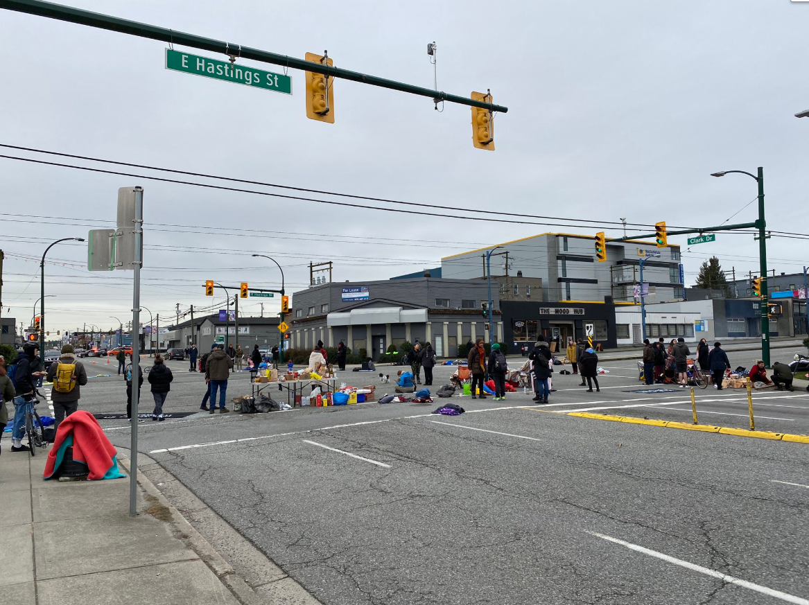 Indigenous Rights Pipeline Protesters Block Main Access To Port Of Vancouver News 1130