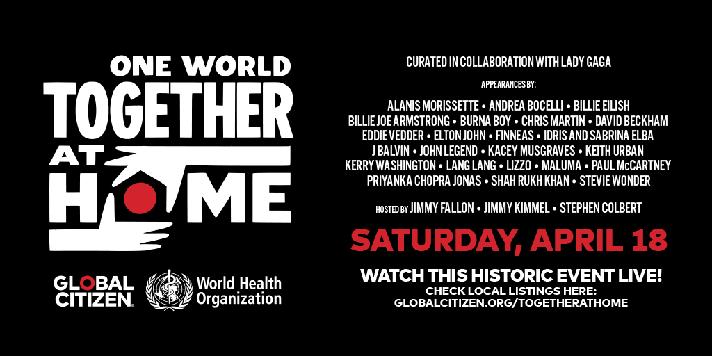 Alicia Keys, Billie Eilish, Lizzo headline One World concert to help in fight against COVID-19