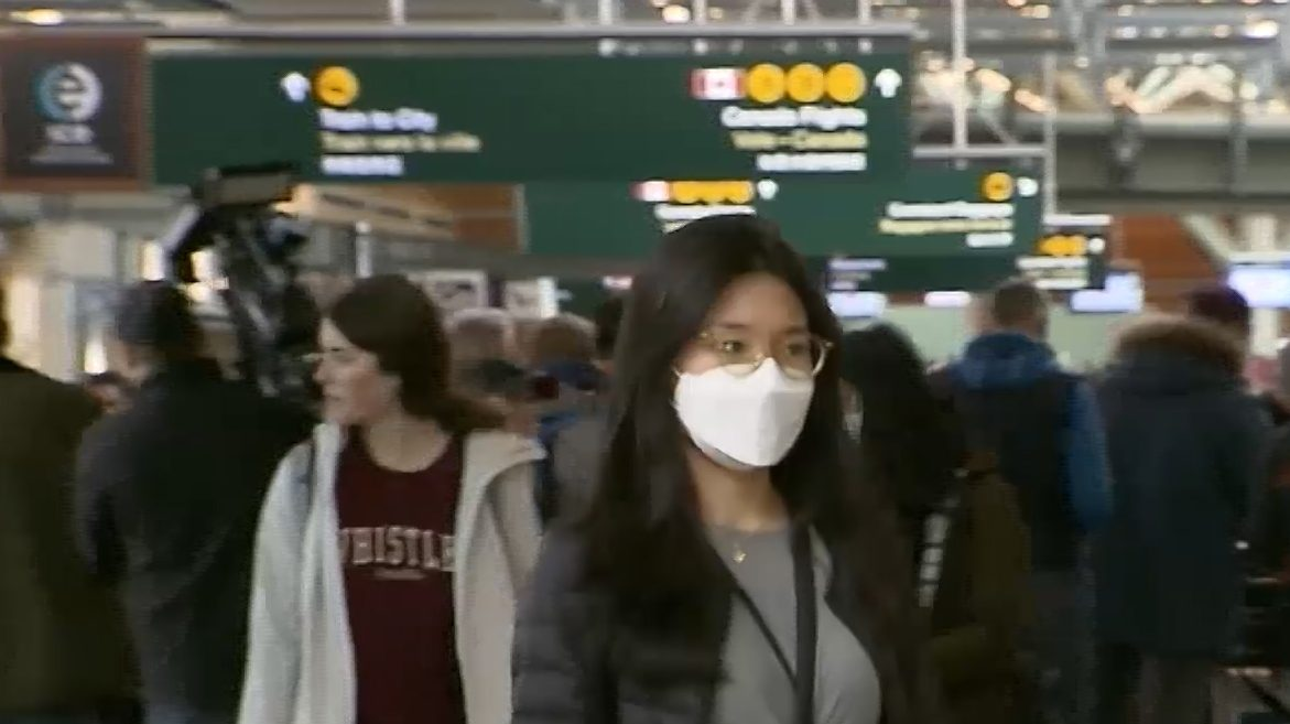 Face masks will be mandatory for all air travel