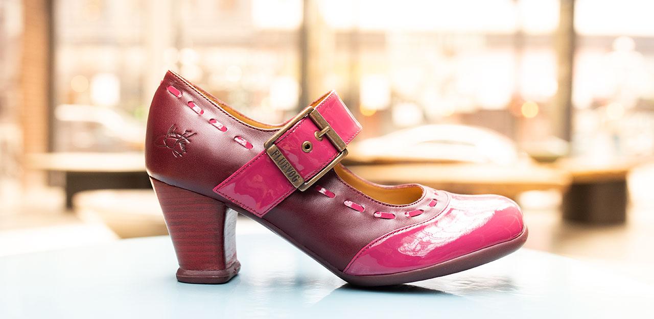 Fluevog shoes inspired by Dr. Bonnie