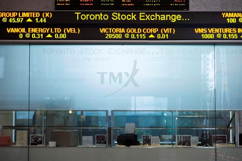North American stock markets start trading day higher, loonie gains