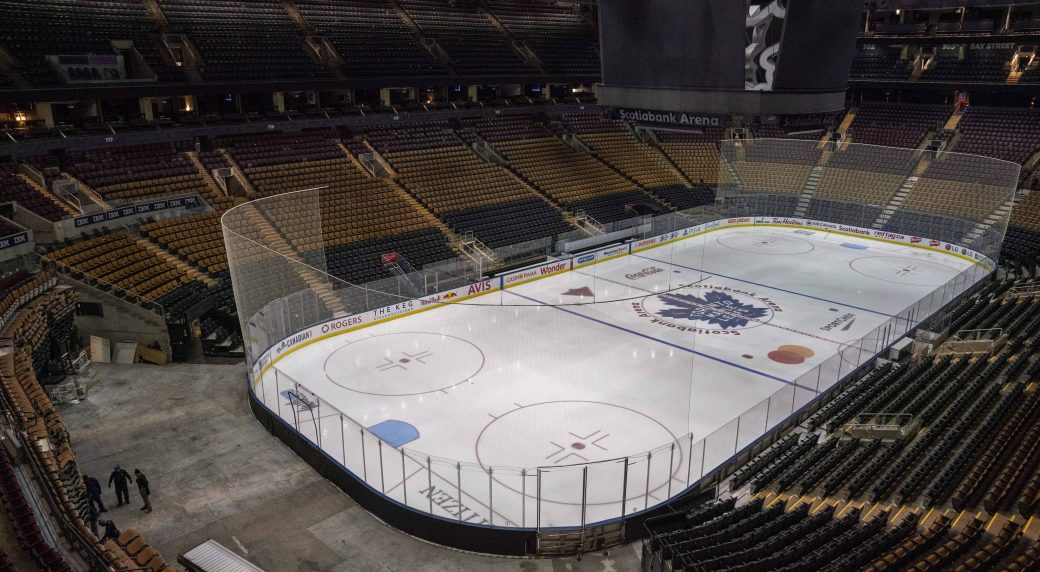 National Hockey League to choose Edmonton and Toronto as hub cities, TSN reports