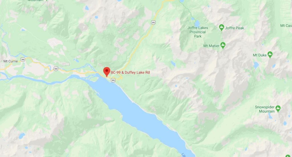 duffy lake road map Two Motorcyclists Die In Crashes Near Pemberton Over The Weekend duffy lake road map