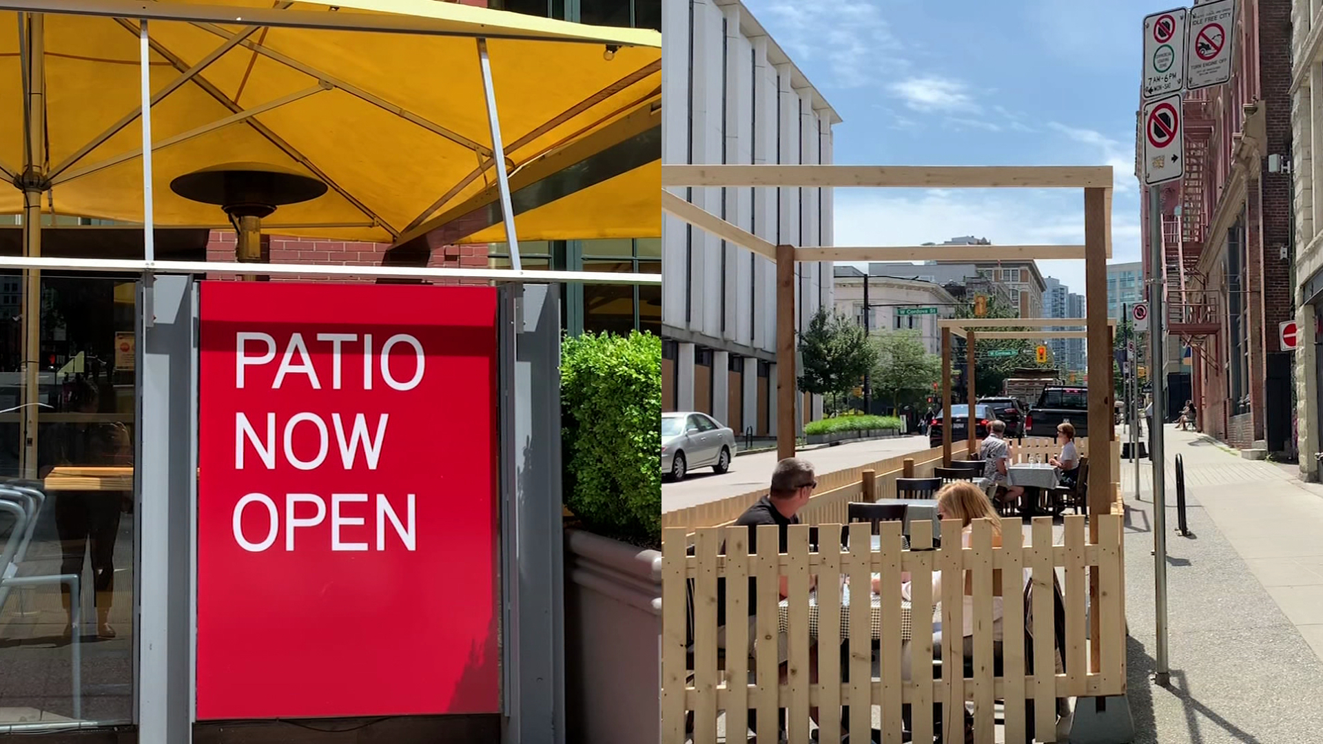 Vancouver's Gastown to be transformed into 'Patiotown' to draw more diners amid coronavirus - NEWS 1130