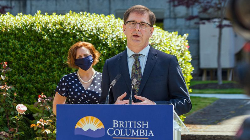 21 new cases of COVID-19 in B.C., no deaths
