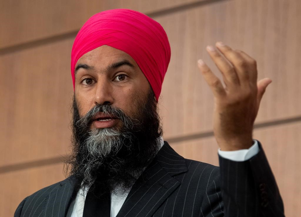 NDP won't trigger federal election over proposed anticorruption committee:  Singh