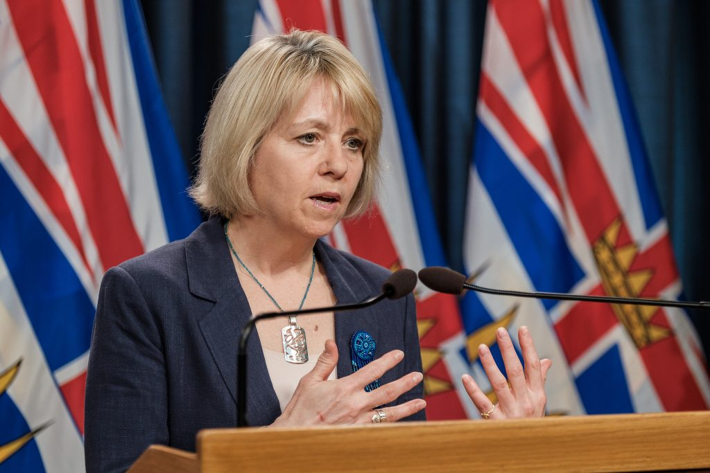 B.C. records 1,262 new COVID-19 cases, mostly in Fraser Health region