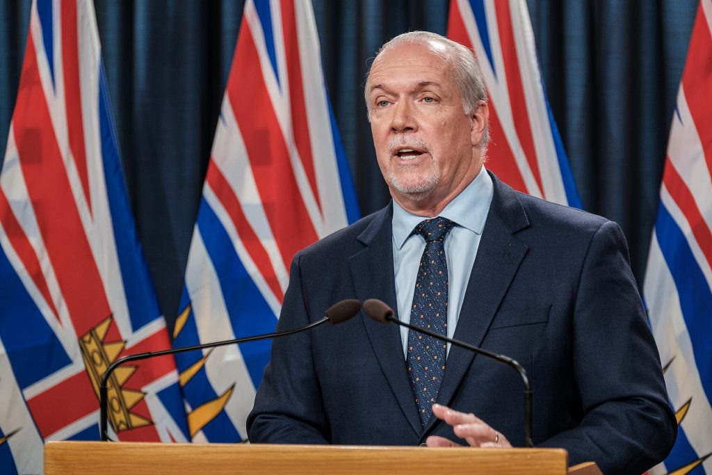 No sympathy from B.C.'s premier for businesses defying vaccine passport rules