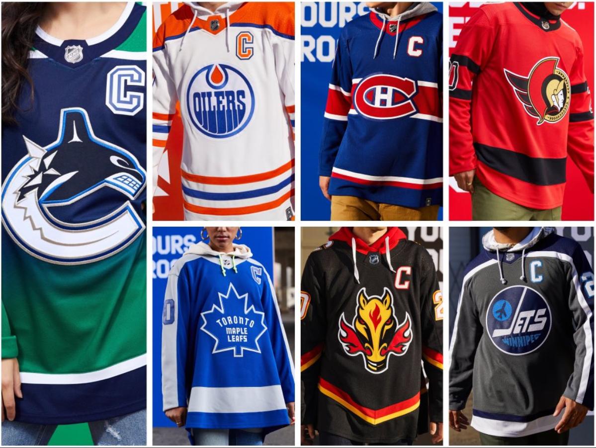 libertad borroso Ajustable  NHL, Adidas reveal 'Reverse Retro' alternate jerseys for all 31 teams -  NEWS 1130