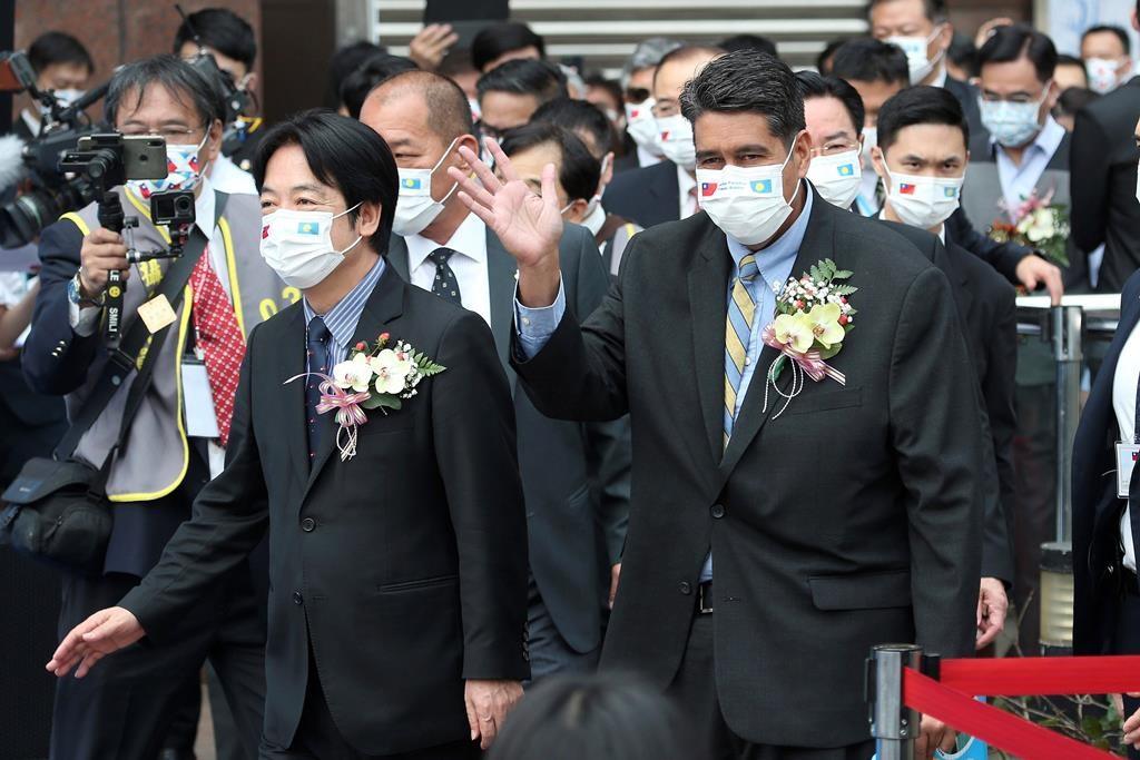 Palau president visits Taiwan amid Chinese pressure - NEWS 1130