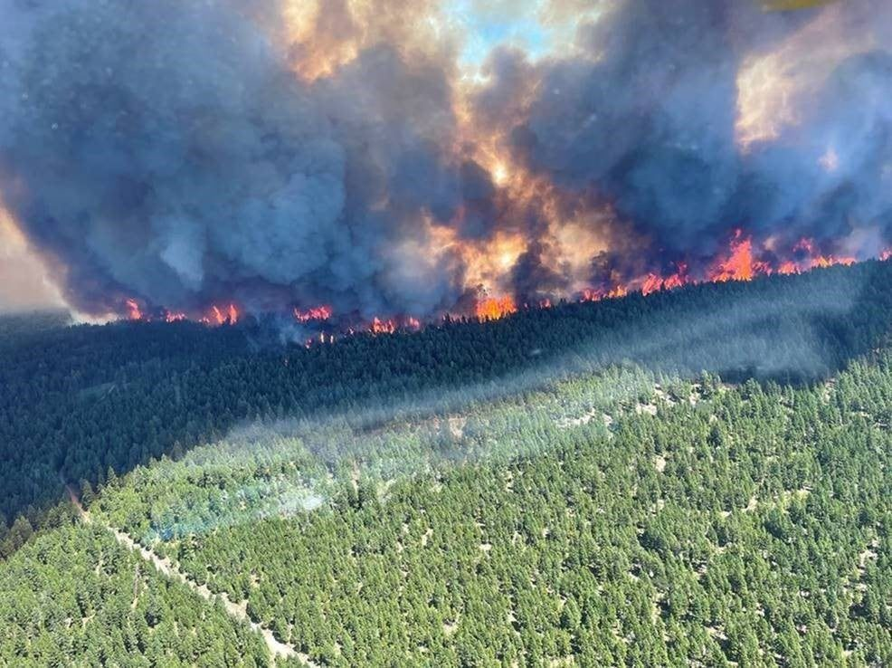 Dry, hot conditions fuelling aggressive B.C. wildfires