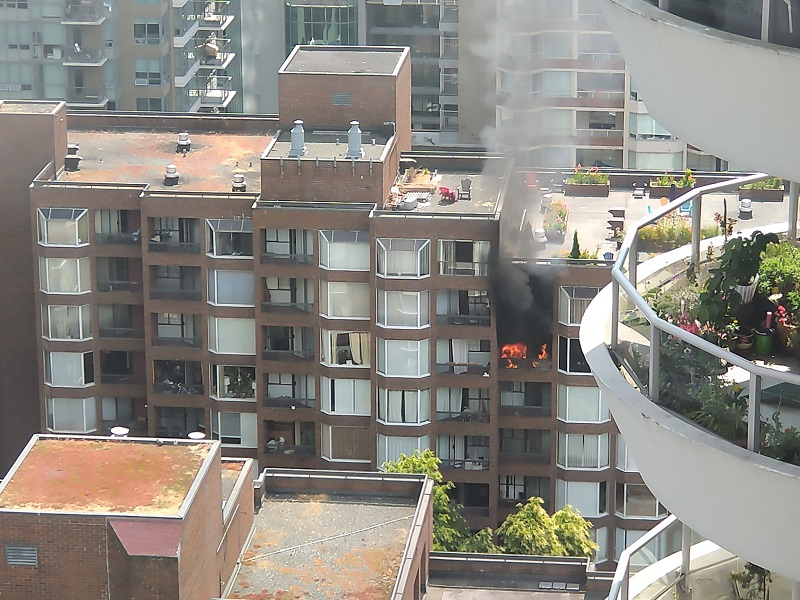 One person killed in Vancouver apartment fire - NEWS 1130