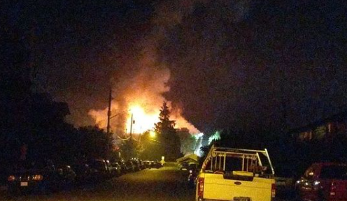 Fire spreads through Chilliwack apartment building - NEWS 1130
