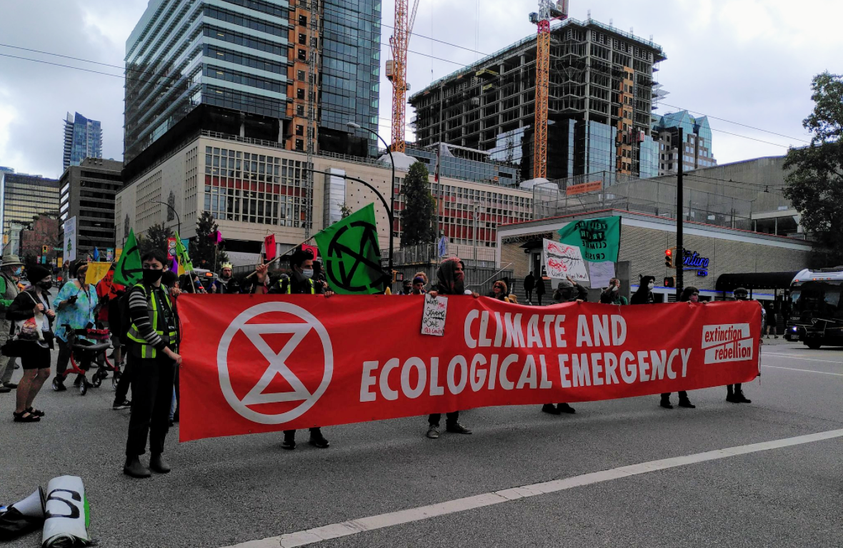 Extinction Rebellion to start 14 day campaign on Vancouver streets - NEWS 1130