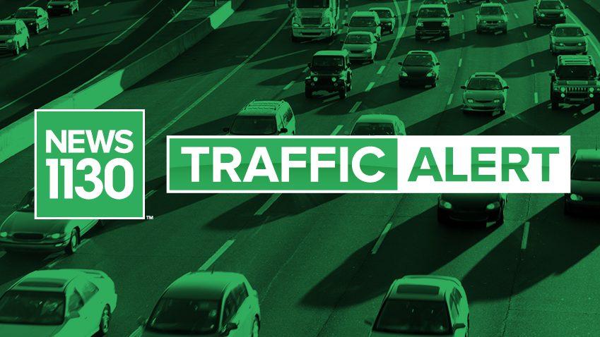 Big delays on Highway 1 in Burnaby - NEWS 1130